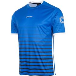 Stanno Fusion Shirt Korte Mouw Heren - Royal / Zwart