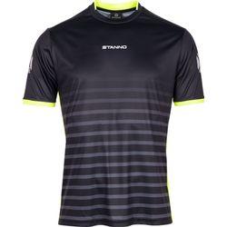 Voorvertoning: Stanno Fusion Shirt Korte Mouw Kinderen - Zwart / Fluogeel