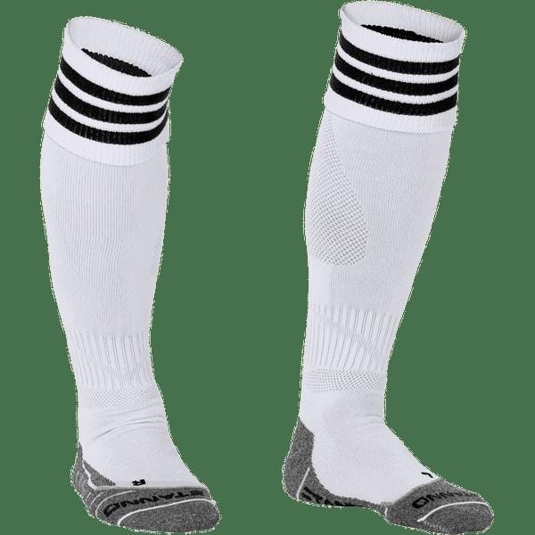 Stanno Ring Chaussettes De Football - Blanc / Noir