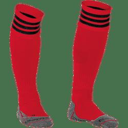 Stanno Ring Chaussettes De Football - Rouge / Noir