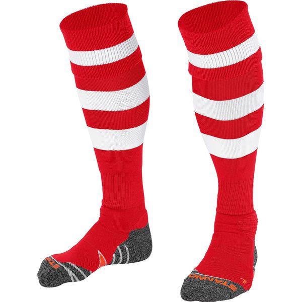 Stanno Original Chaussettes De Football - Rouge / Blanc