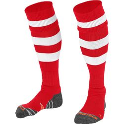 Stanno Original Chaussettes De Football - Rouge / Blanc