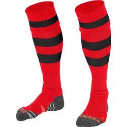 Stanno Original Chaussettes De Football - Rouge / Noir