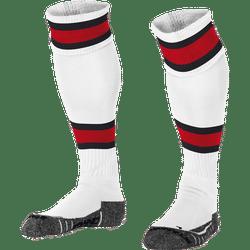Stanno League Voetbalkousen - Wit / Rood / Zwart