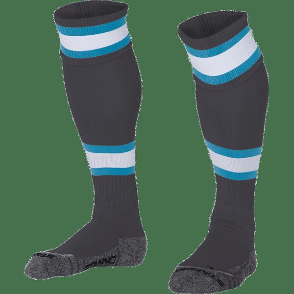 Stanno League Voetbalkousen - Antraciet / Lichtblauw / Wit