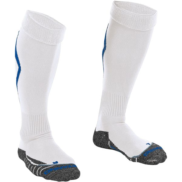 Stanno Forza Chaussettes De Football - Royal / Blanc