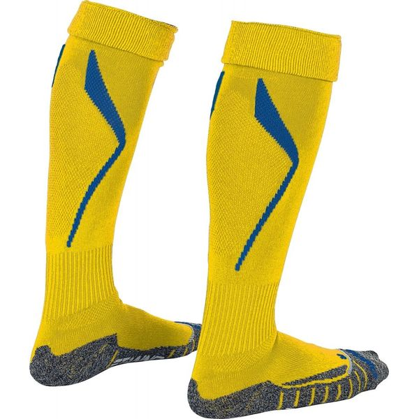Stanno Forza Chaussettes De Football - Royal / Jaune Fluo