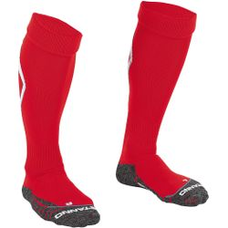Stanno Forza Chaussettes De Football - Blanc / Rouge