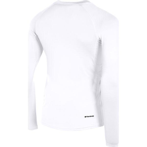 Stanno Functional Sports Underwear Shirt Lange Mouw Heren - Wit