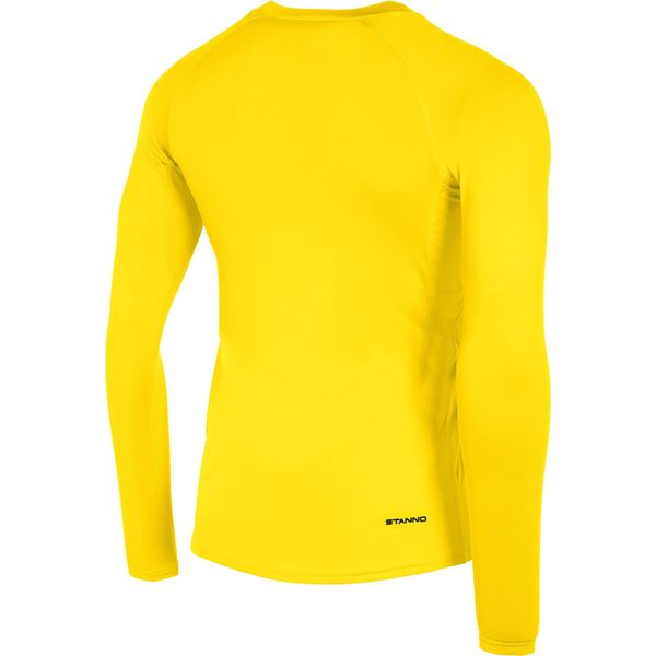 Stanno Functional Sports Underwear Shirt Lange Mouw Heren - Geel