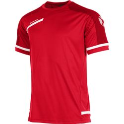Stanno Prestige T-Shirt Heren - Rood / Wit