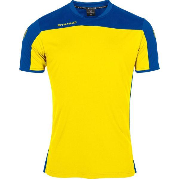 Stanno Pride T-Shirt - Geel / Royal