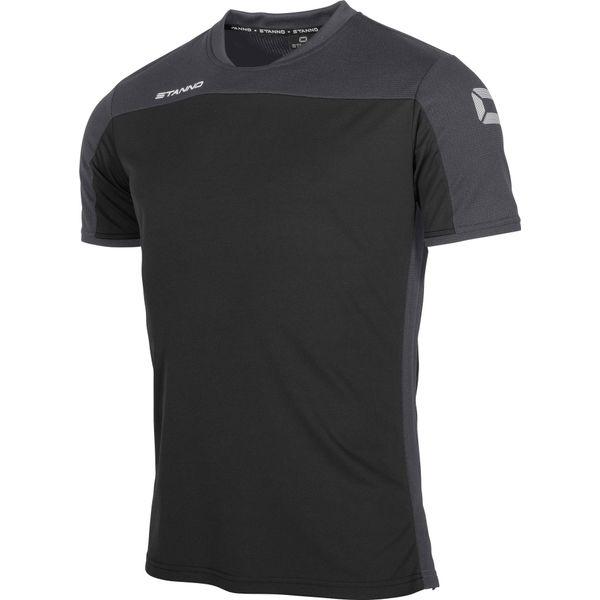 Stanno Pride T-Shirt Kinderen - Zwart / Antraciet