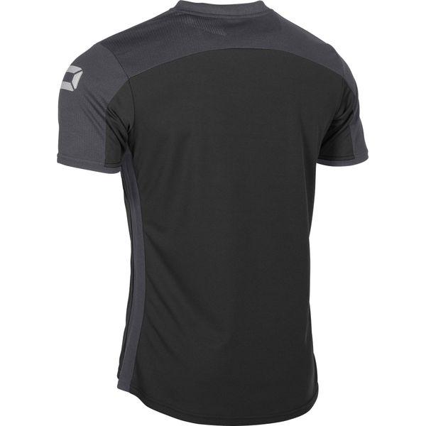 Stanno Pride T-Shirt Heren - Zwart / Antraciet