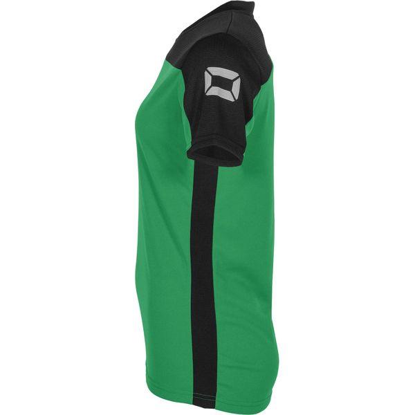 Stanno Pride T-Shirt Dames - Groen / Zwart