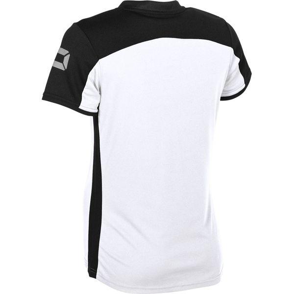 Stanno Pride T-Shirt Dames - Wit / Zwart