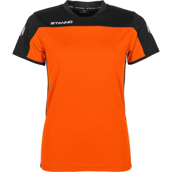 Stanno Pride T-Shirt Dames - Oranje / Zwart