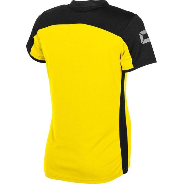 Stanno Pride T-Shirt Dames - Geel / Zwart