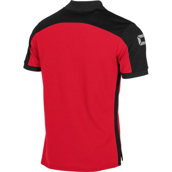 Stanno Pride Polo - Rood / Zwart
