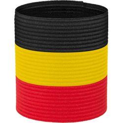Stanno Be Aanvoerdersband - Zwart / Geel / Rood