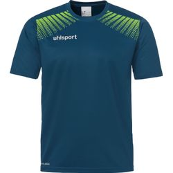 Uhlsport Goal T-Shirt Enfants - Pétrole / Flashgreen