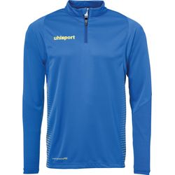 Uhlsport Score Ziptop - Royal / Lime Yellow