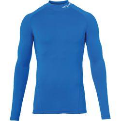 Uhlsport Distinction Pro Baselayer Shirt Opstaande Kraag Kinderen - Royal
