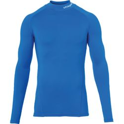 Uhlsport Distinction Pro Baselayer Shirt Opstaande Kraag - Royal