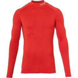 Uhlsport Distinction Pro Baselayer Shirt Opstaande Kraag Kinderen - Rood