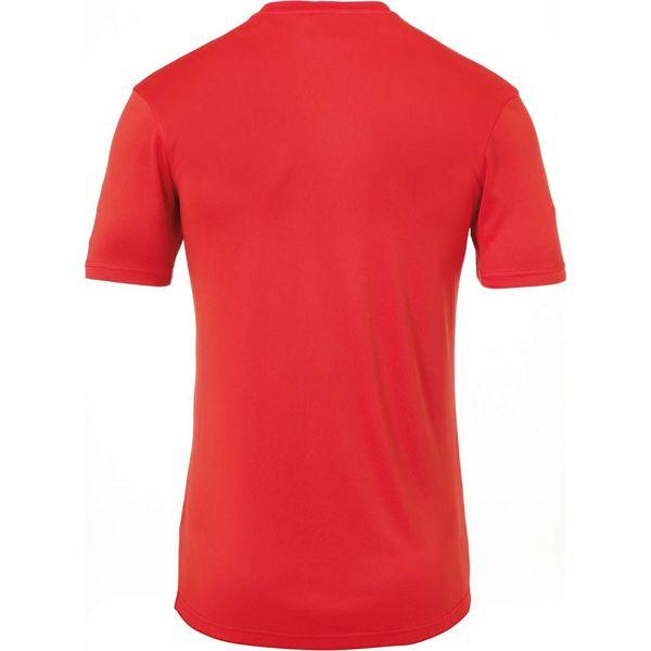 Uhlsport Stream 22 Shirt Korte Mouw Kinderen - Rood / Wit