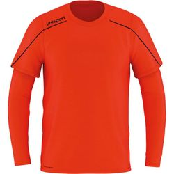 Uhlsport Stream 22 Keepershirt Lange Mouw Heren - Fluorood / Marine