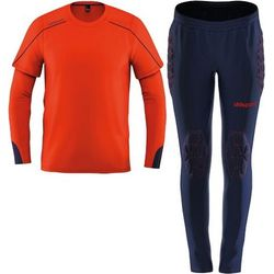 Uhlsport Stream 22 Keeperset Kinderen - Fluorood / Marine