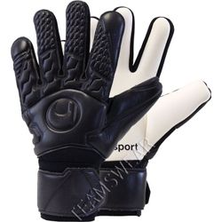Uhlsport Comfort Absolutgrip Half Negative Keepershandschoenen - Zwart / Wit